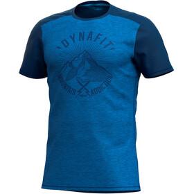 Dynafit Transalper Light Camiseta Manga Corta Hombre, poseidon